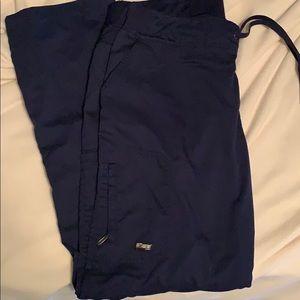Navy greys anatomy women's scrub pants
